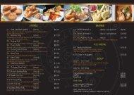 Dinner Menu (PDF)