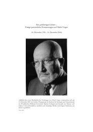 Ein großartiger Lehrer – Einige persönliche ... - OSTASIEN Verlag