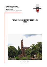 2009 - Gutachterausschüsse für Grundstückswerte im Land ...
