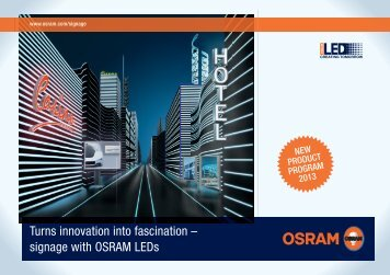 Signage brochure - Osram