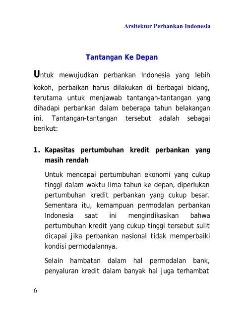 6 Tantangan Ke Depan Bank Indonesia