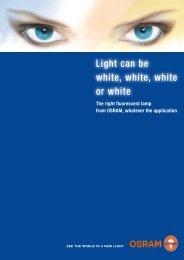 LUMILUX® DE LUXE Warm White Light colour 930 - Osram