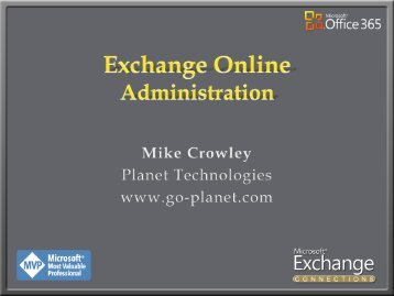 EXC22_Exchange_Online_Administration - Mike Crowley's ...