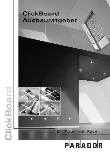 ClickBoard Montage - Sperrholz-Beck  GmbH