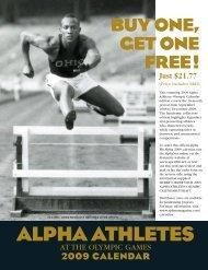 ALPHA ATHLETES - The Sphinx Magazine