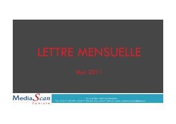 Lettre Mensuelle Mai 2011 - Madwatch