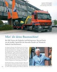 Miet' dir deine Baumaschine! - Zukunft Lübeck