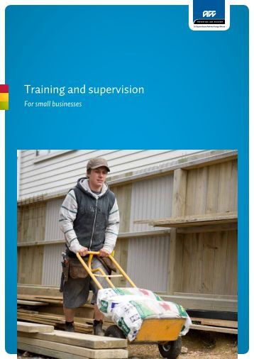 ACC5838 Training and supervision