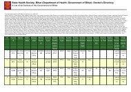 Gaya - STATE HEALTH SOCIETY-----BIHAR