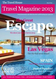 Travel Magazine 2013 - The Travel House