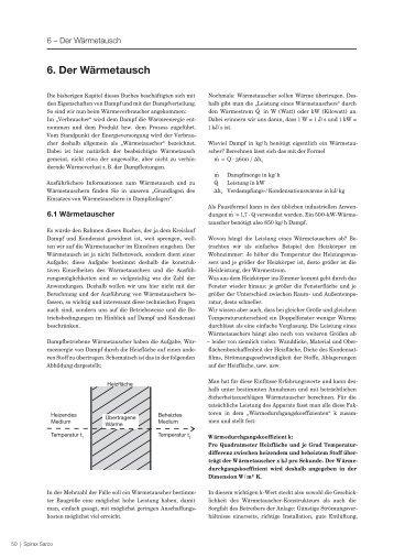 6. Der Wärmetausch - Spirax Sarco
