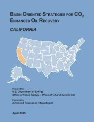 CALIFORNIA - Advanced Resources International, Inc.