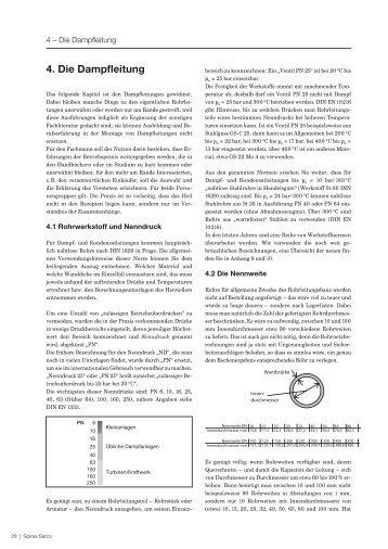 4. Die Dampfleitung - Spirax Sarco