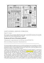 Gazzetta di Modena 18-02-2004 - Economisti Associati Srl