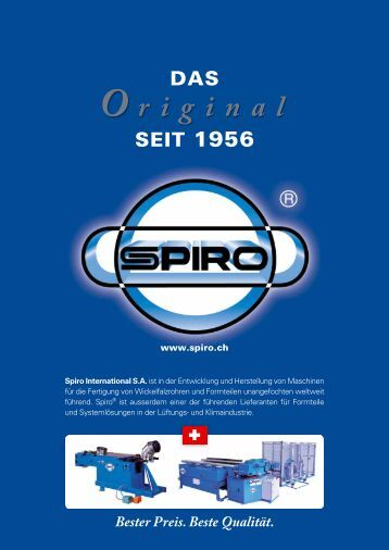 PRO - Spiro International SA