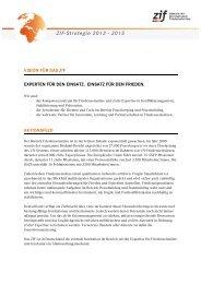 Eine Vision für das ZIF | Mission & Leitlinien