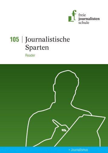 Leseprobe 105 - Freie Journalistenschule
