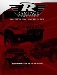 Rampage 24pg Catalog Final5.0 - Rampage Products