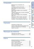 Manual da Cyber-shot - Componentes para Câmeras Digitais? - Page 6