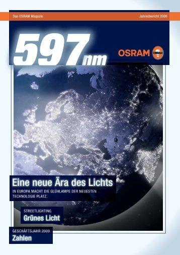 Unsere innovativen Lösungen für Energieeffizienz senken ... - Osram