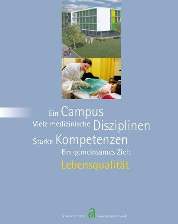 Jahresbericht 2010 -  Ostalb-Klinikum