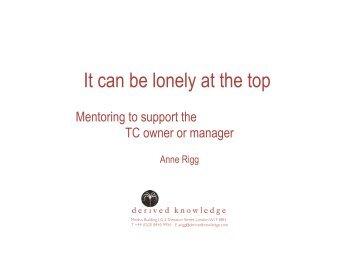 Anne Rigg PC 210909