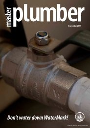 September 2011 - Master Plumbers Association of Queensland