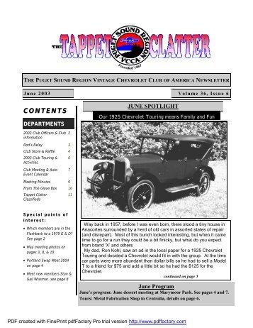 tc june 2003 - Doubleknot