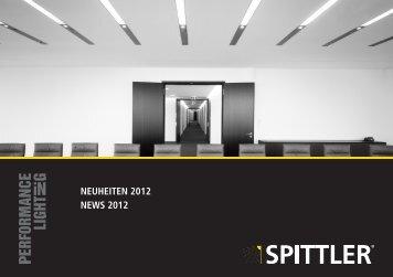NEUHEITEN 2012 NEWS 2012 - Spittler
