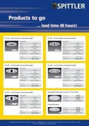 DL 185 – round modular recessed downlight DL 220 – round - Spittler