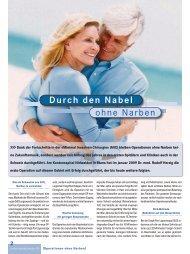 ohne Narben Durch den Nabel - Kantonsspital Nidwalden