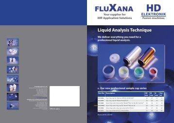 Liquid Analysis Technique