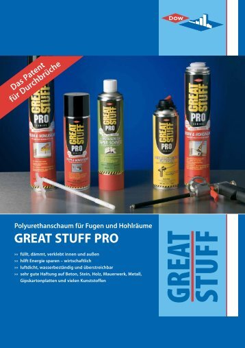 great stuff pro - Dow Building Solutions - The Dow Chemical Company