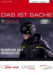 Brillen + Helme DAS IST SACHE - Sport + Mode
