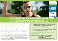Flyer Carsten Eich Laufseminare - SPORT education/events