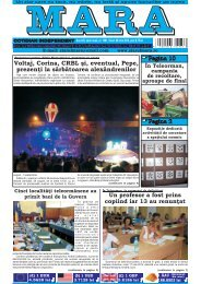 Download (PDF, 5.1MB) - Ziarul Mara