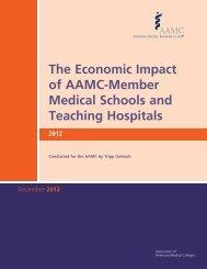The Economic Impact of AAMC-member Medical Schools - AAMC's ...