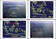 インドネシアについて① - 地球・人間環境フォーラム