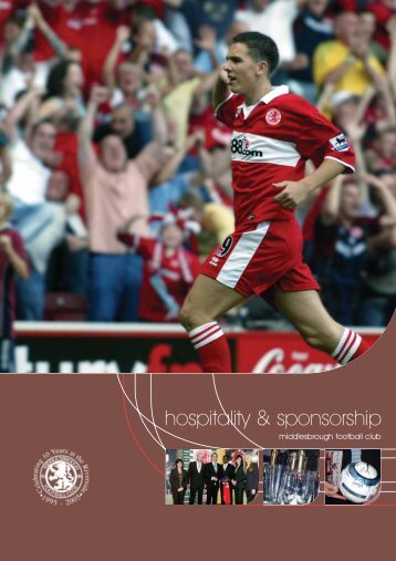 hospitality & sponsorship - Middlesbrough