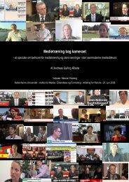Medietræning bag kameraet - Kommunikationsforum