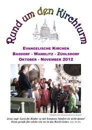 für Oktober und November 2012 - Kirche-basdorf.de