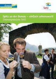 Spitz an der Donau einfach sehenswert!