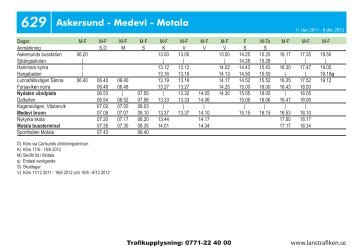 629 Askersund - Medevi - Motala