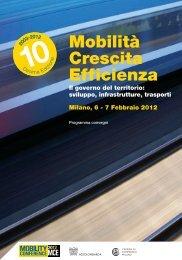 Mobilità Crescita Efficienza - Programma - Energy Lab Foundation
