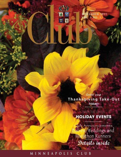 November - Minneapolis Club