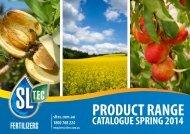 Product Range Catalogue - Sustainable Liquid Technology