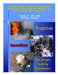 Strategic Planning Summit for Emergency Preparedness, Planning ...
