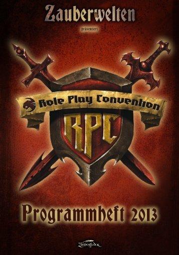 Programmheft 2013 - RPC Germany