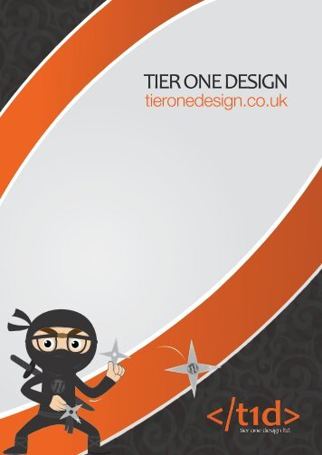 TIER ONE DESIGN