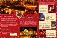 Flyer Weihnachtsmarkt 2012 - Stadt Osnabrück